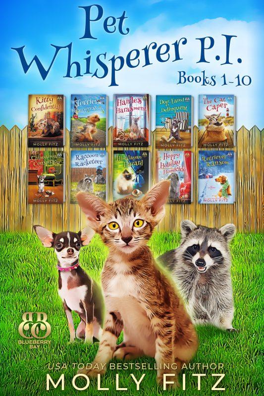 Pet Whisperer P.I. Mega Boxed Set, Books 1-10