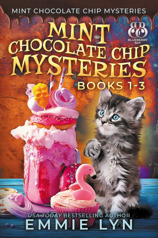 Mint Chocolate Chip Mysteries, Books 1-3