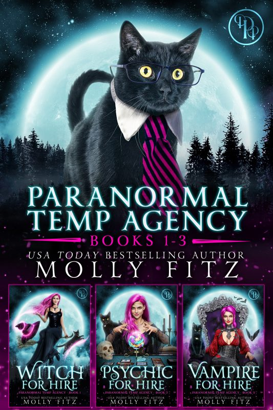 Paranormal Temp Agency Books 1-3 Special Collection